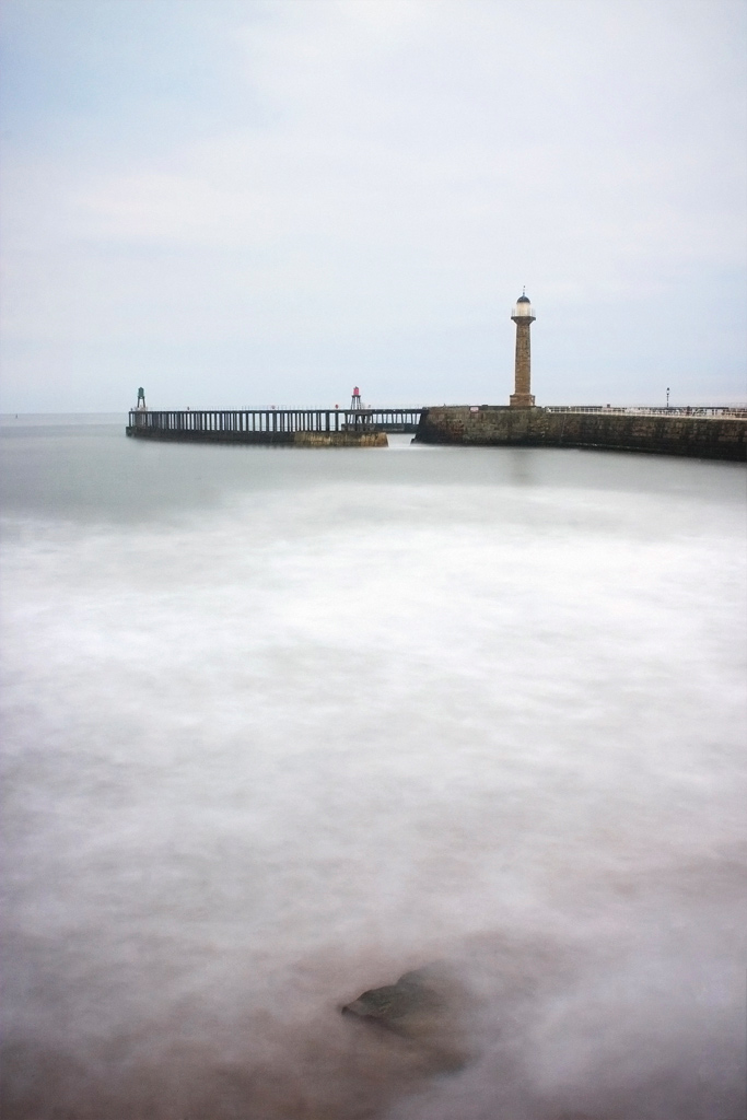 Lighthouse at Whitby. Photography by Cormac Scanlan.