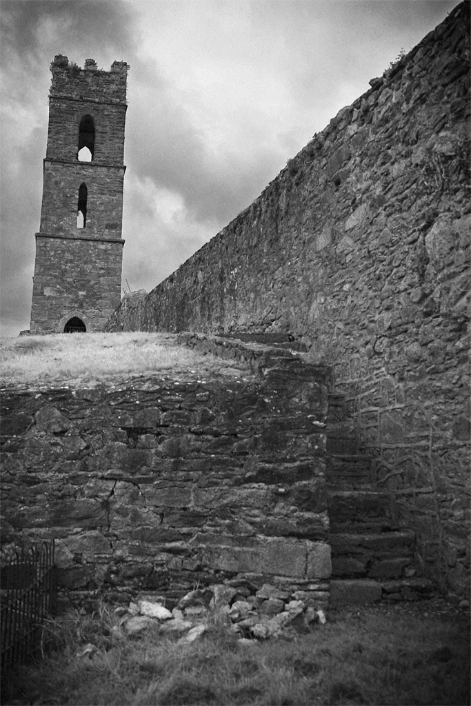 Towards the Belltower. Photography by Cormac Scanlan.